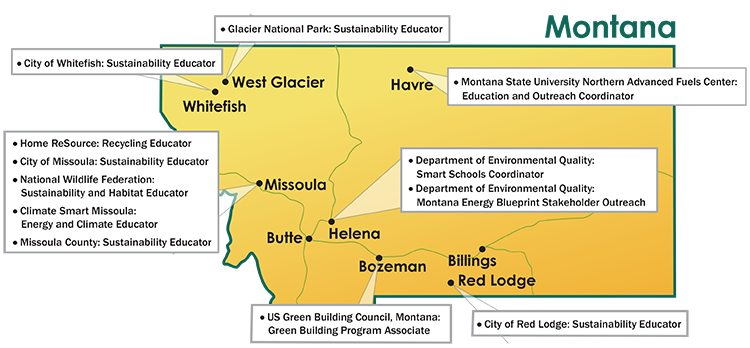 Map of 2016 Energy Corp locations
