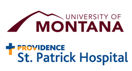 The University of Montana and Providence St. Patrick Hospital Logo