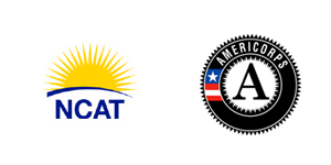 NCAT and Americorps Logos