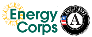 EnergyCorps and Americorps Logo
